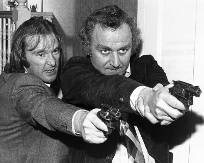 The Sweeney. The rules of the game have changed a bit since their day.