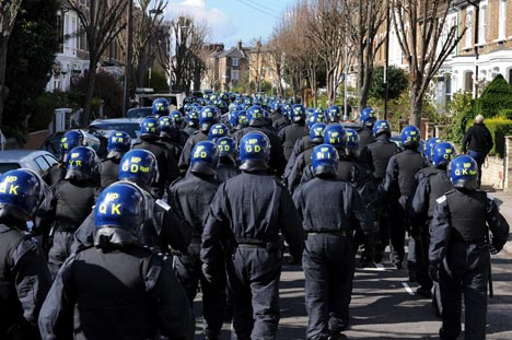 Police search for a response to an IPCC FoI request